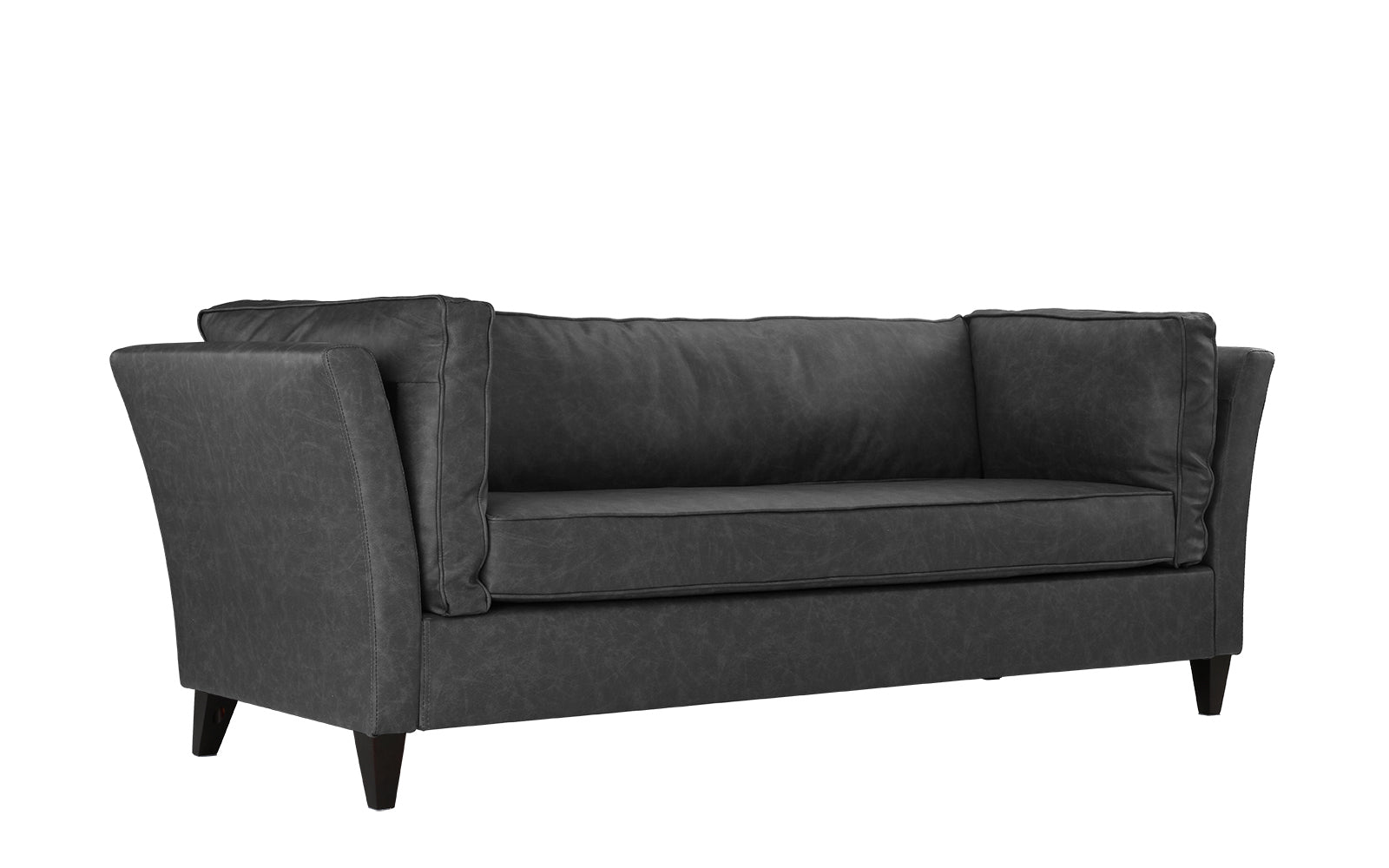 base sofa couch bonded modern loveseat brown and leather