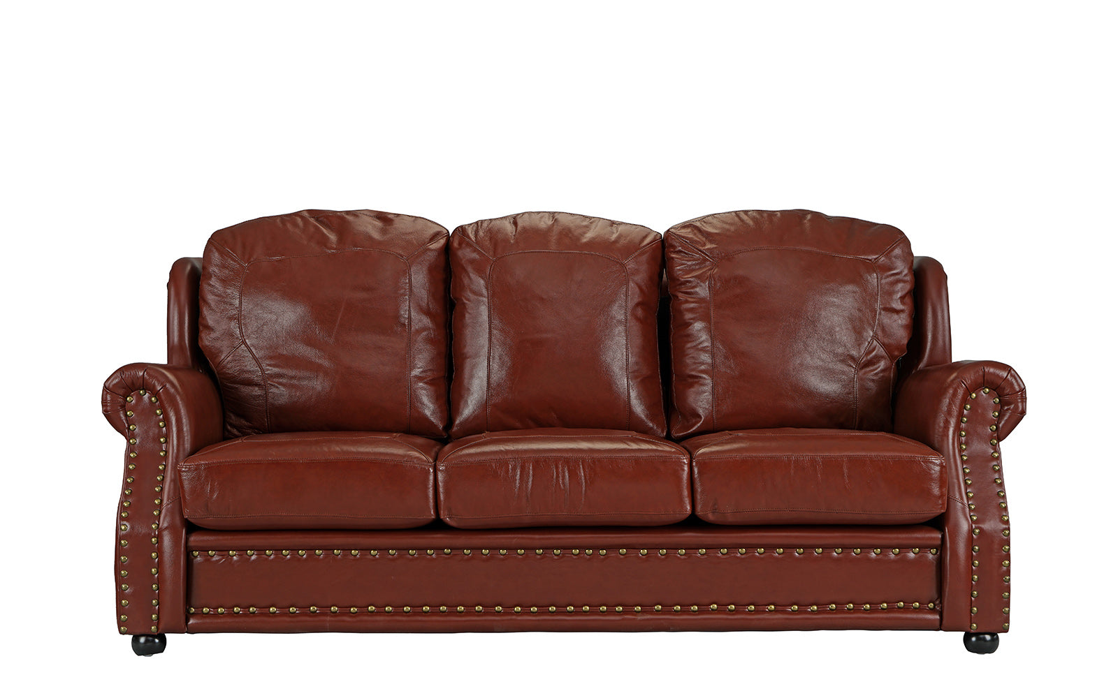 Executive Top Gain Leather Sofa Image
