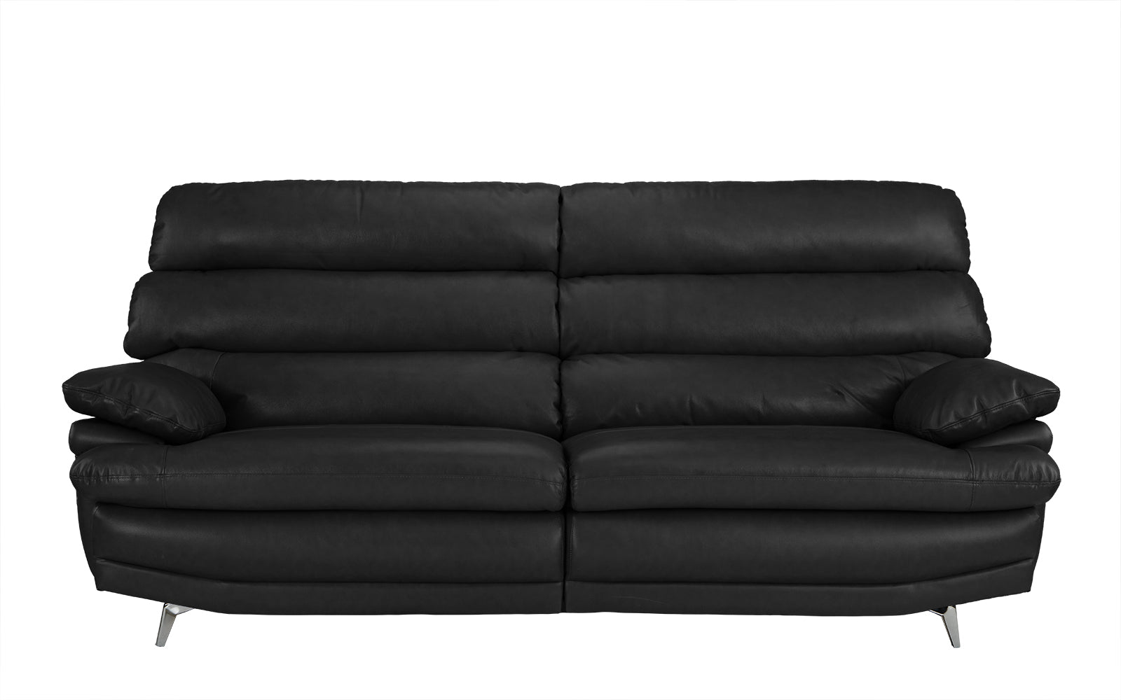 Marvelous Daryn Real Leather Low Profile Sofa