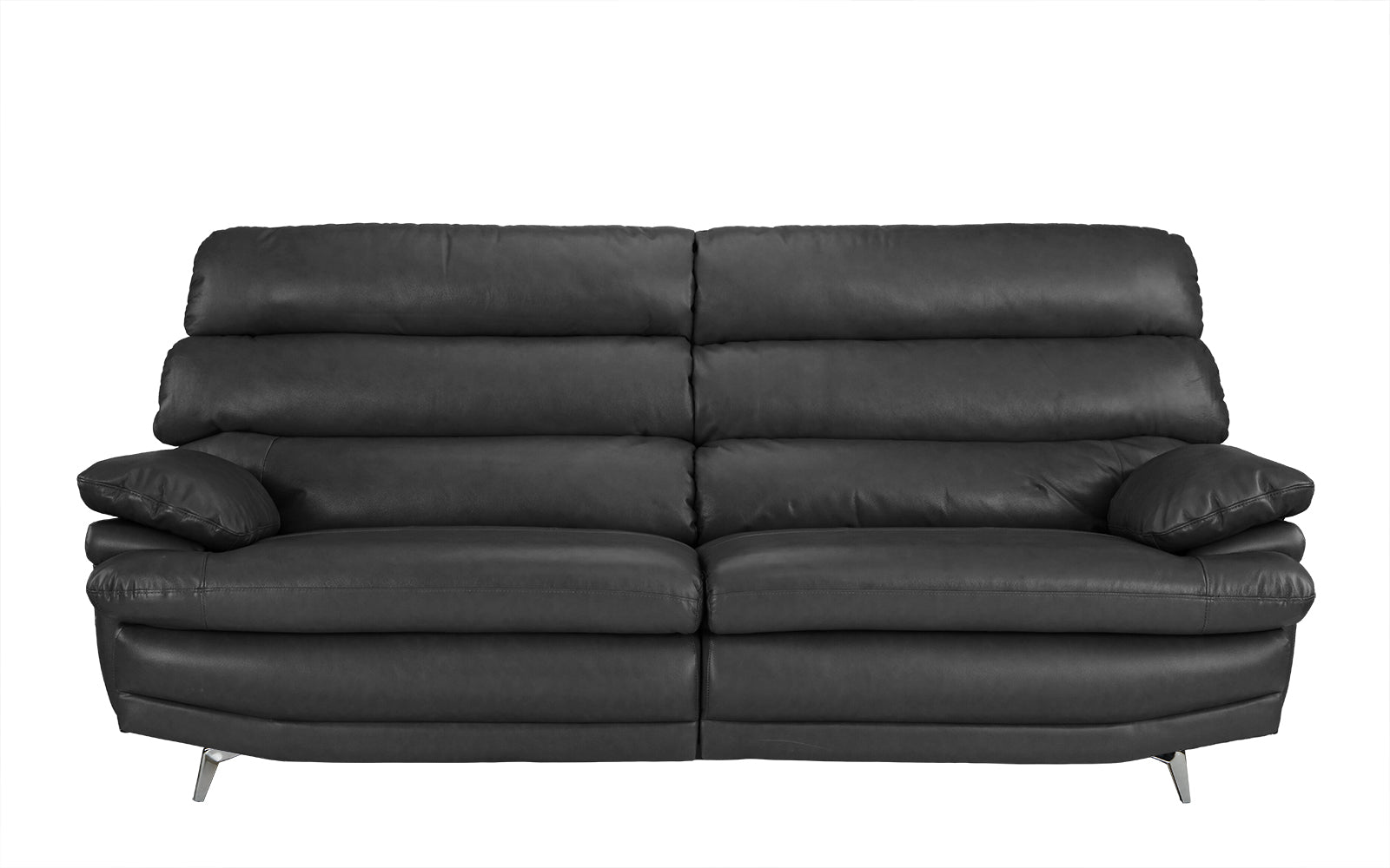 Daryn Real Leather Low Profile Sofa