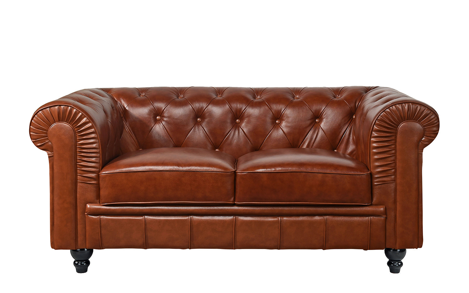 Leather Loveseat Image