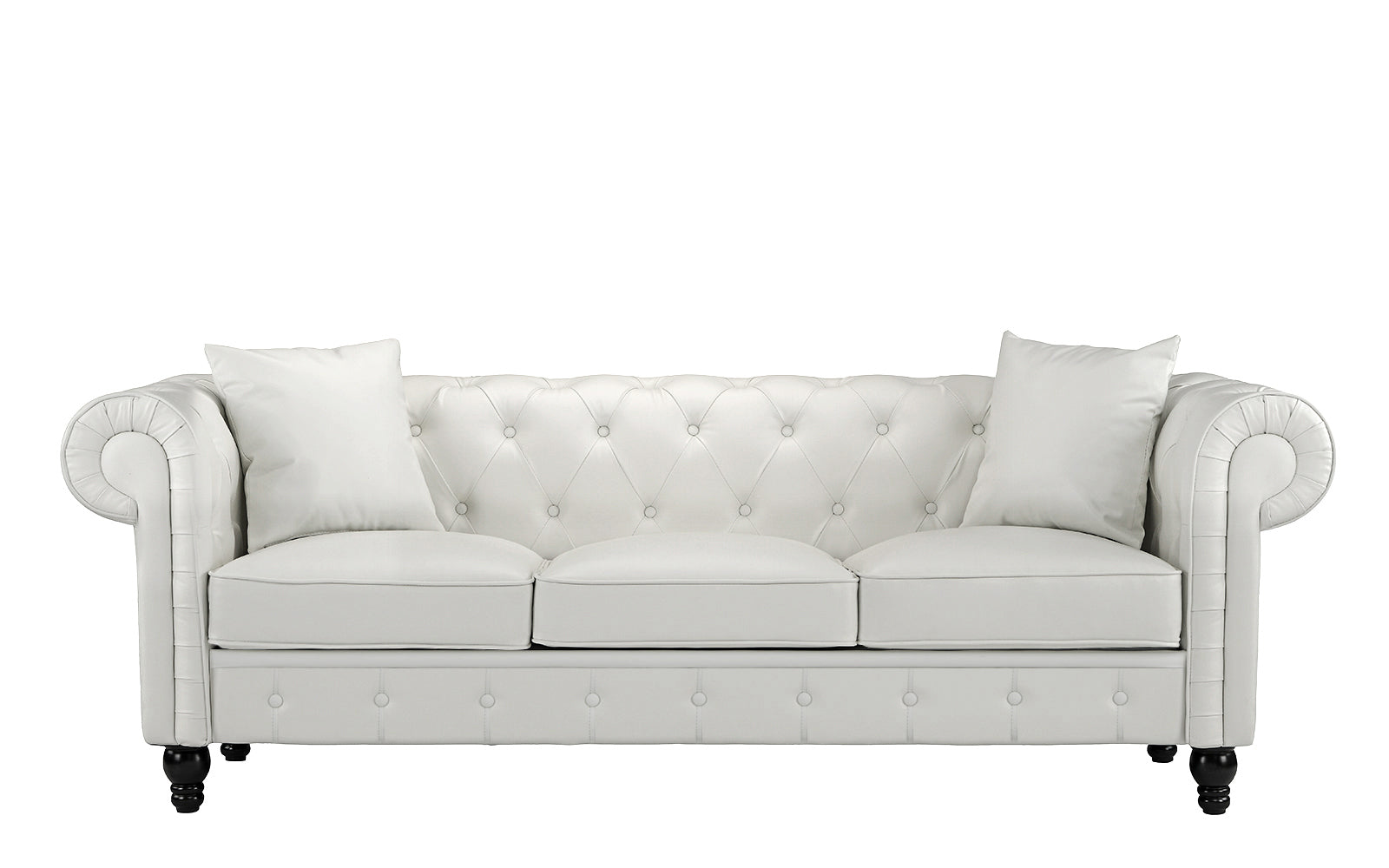 Bonded Leather Sofa Image