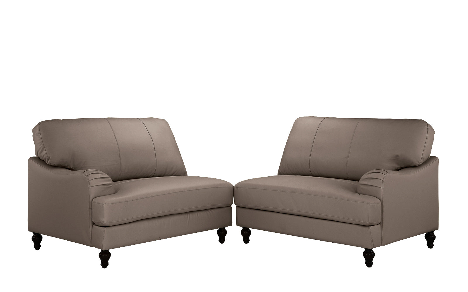 Evelyn Classic Convertible Leather Match Sofa
