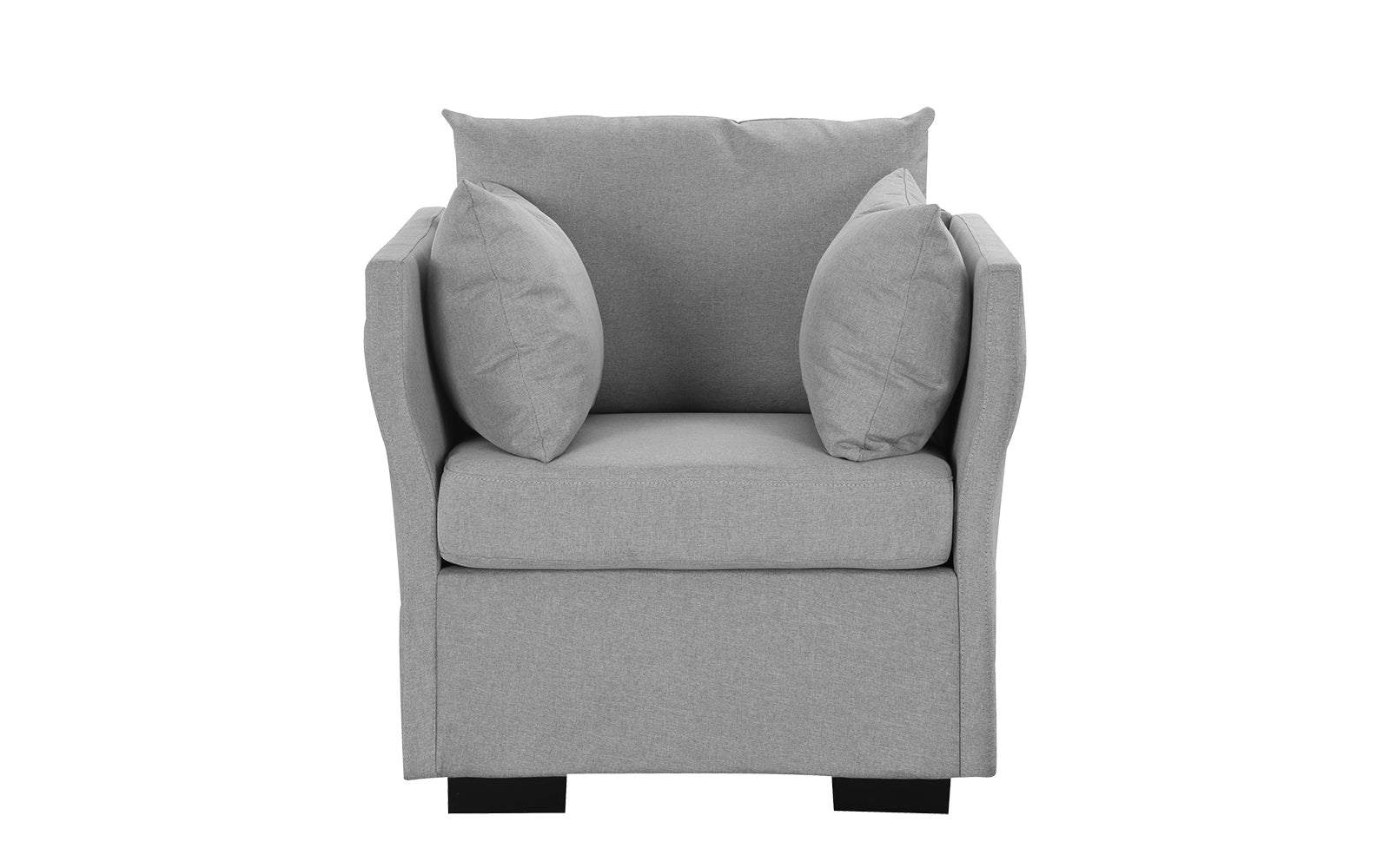 Linen Fabric Armchair Image