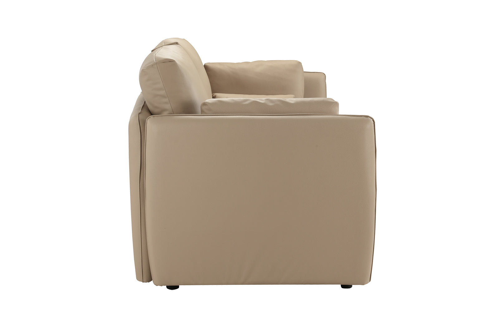 Wondrous Maxine Contemporary Faux Leather Loveseat Bralicious Painted Fabric Chair Ideas Braliciousco