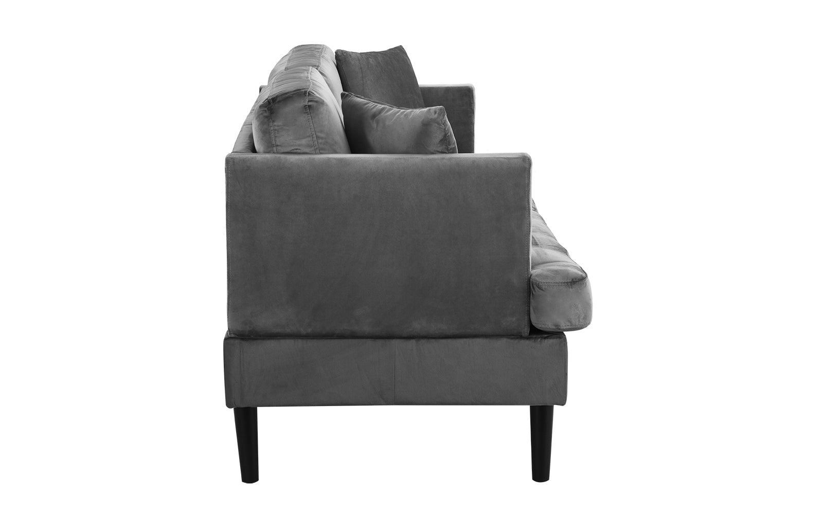 Sensational Greta Old Hollywood Velvet Tufted Loveseat Short Links Chair Design For Home Short Linksinfo