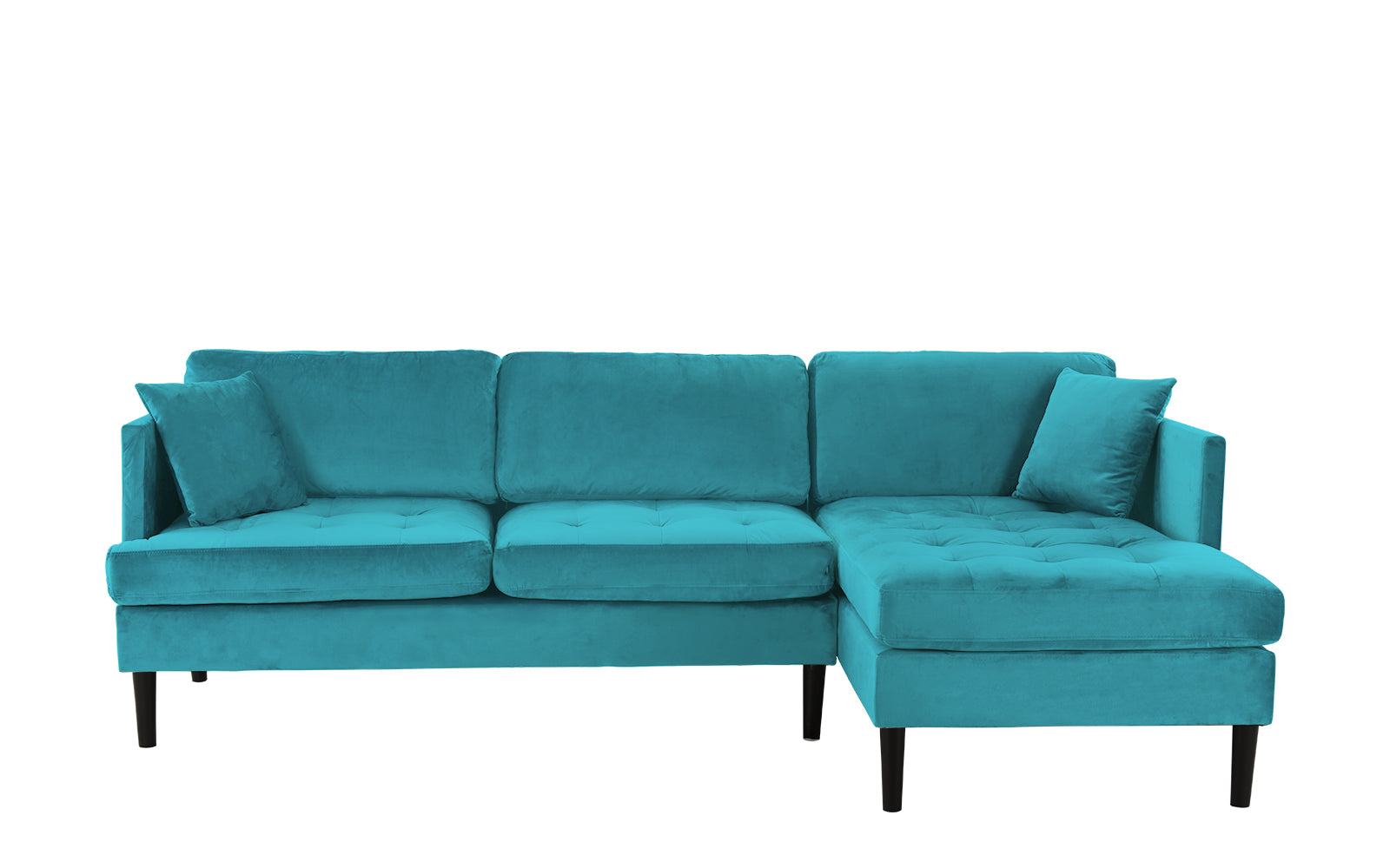 Velvet Sectional Sofa Image