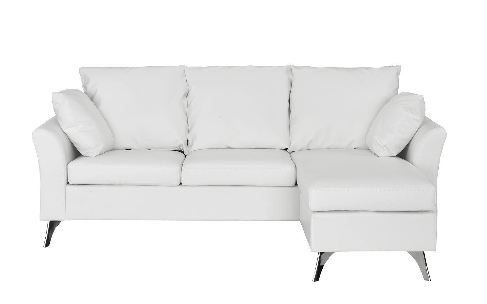 Leather Configurable Space Saving Sectional Sofa Image