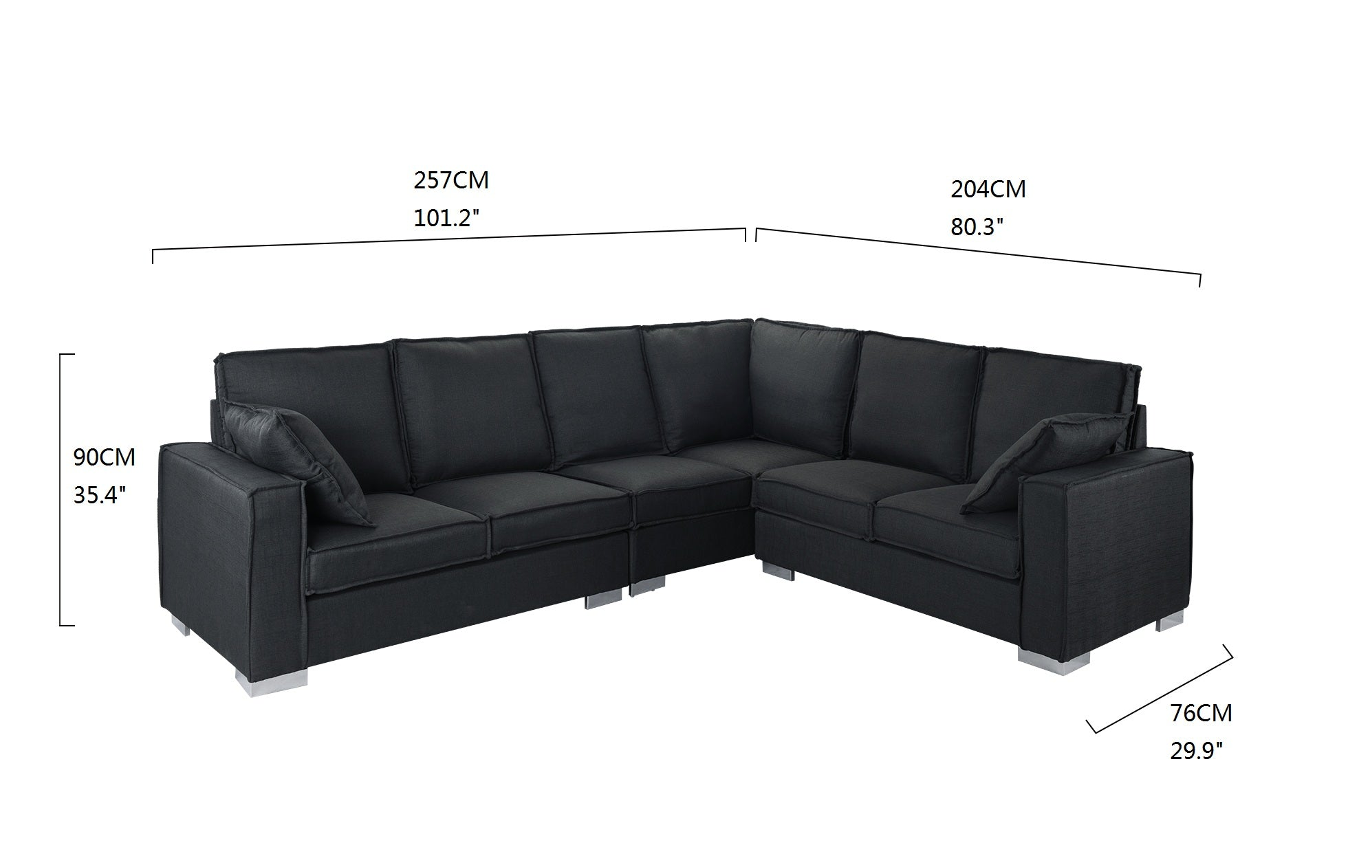 Prime Lamer Contemporary 6 Seat Sectional Sofa Andrewgaddart Wooden Chair Designs For Living Room Andrewgaddartcom