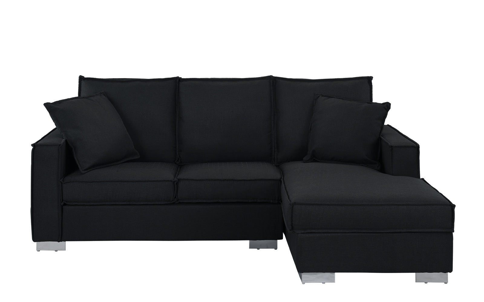 Quinto Contemporary Small Space-Saving Sectional Sofa