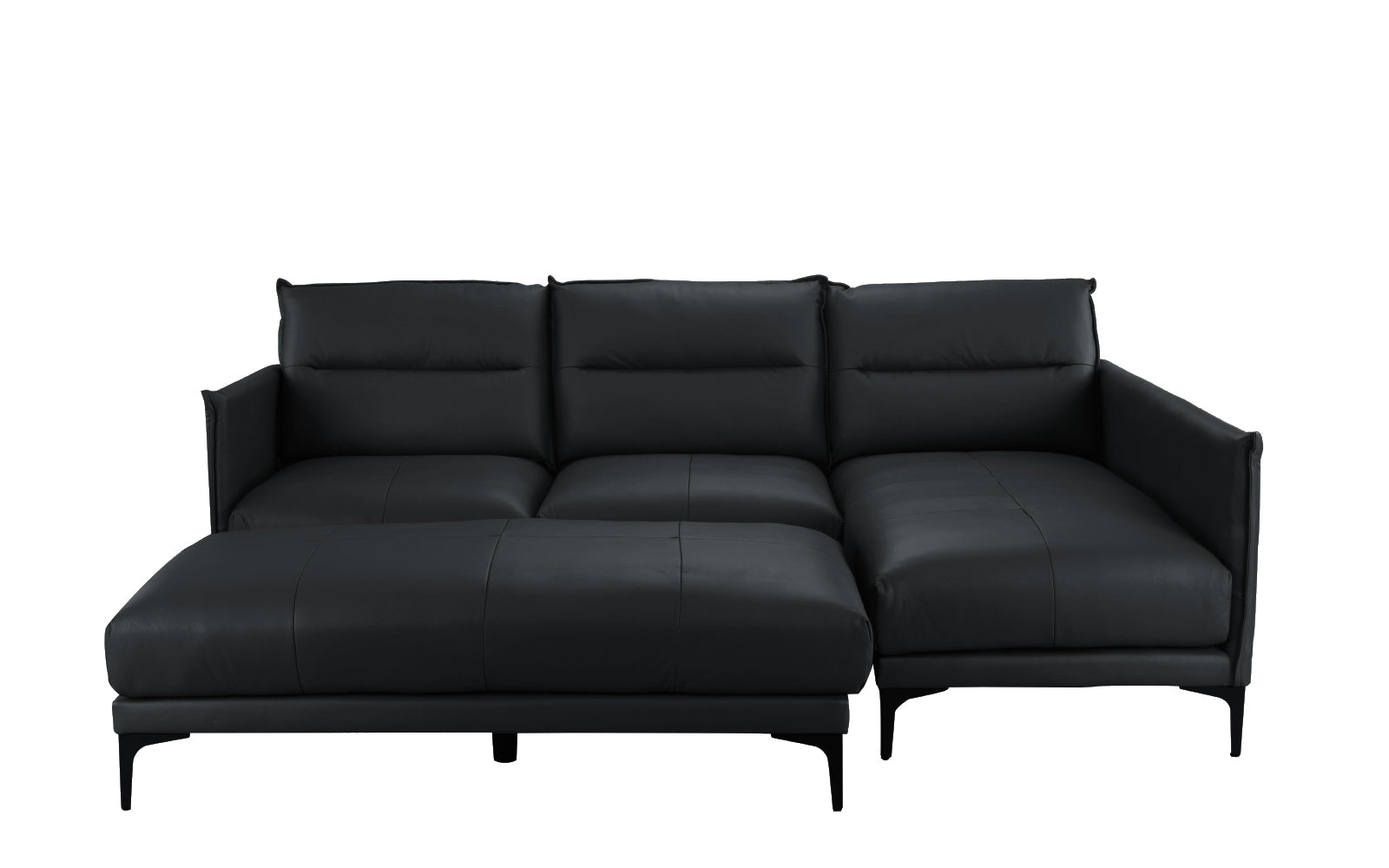 Leather Sectional Ottoman Image