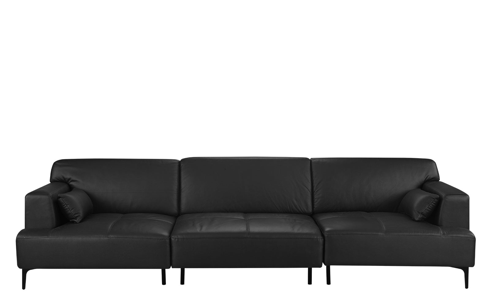 Oversized Leather Sofa Image