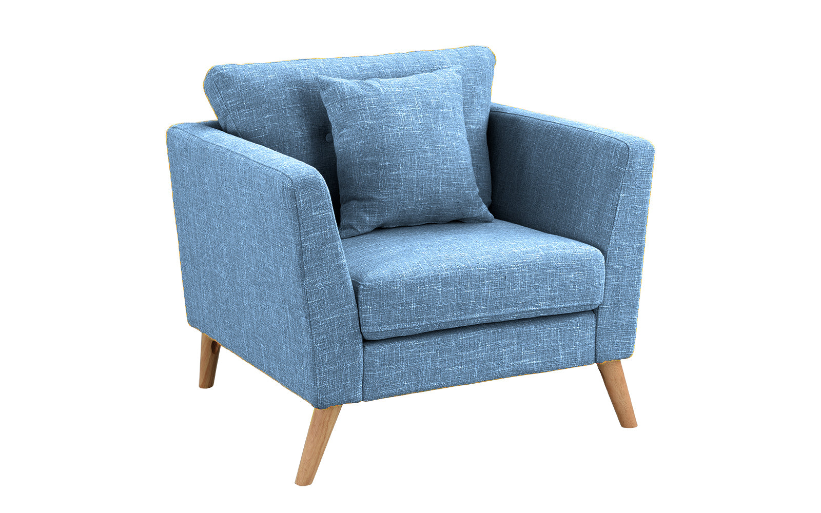 Fantastic Lola Mid Century Arm Chair With Wooden Legs Caraccident5 Cool Chair Designs And Ideas Caraccident5Info