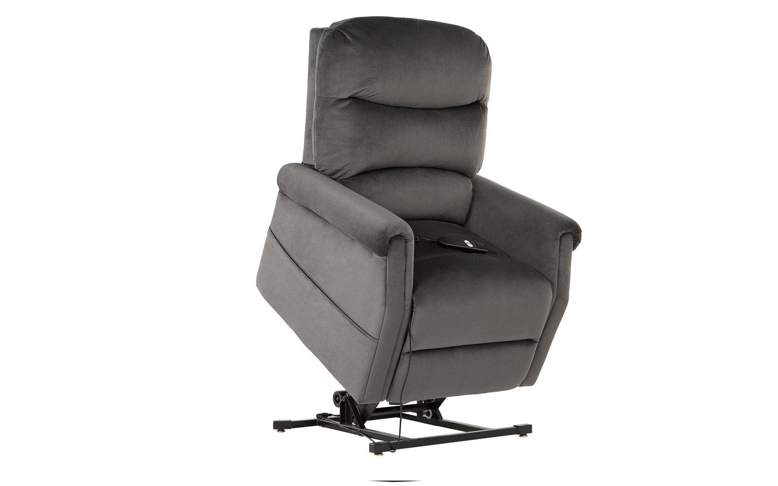 ... Up Classic Power Lift Recliner Fabric In Dark Grey  sc 1 st  Sofamania & Swivel Rocker Recliner |John Bonded Leather Recliner Rocker Swivel ... islam-shia.org