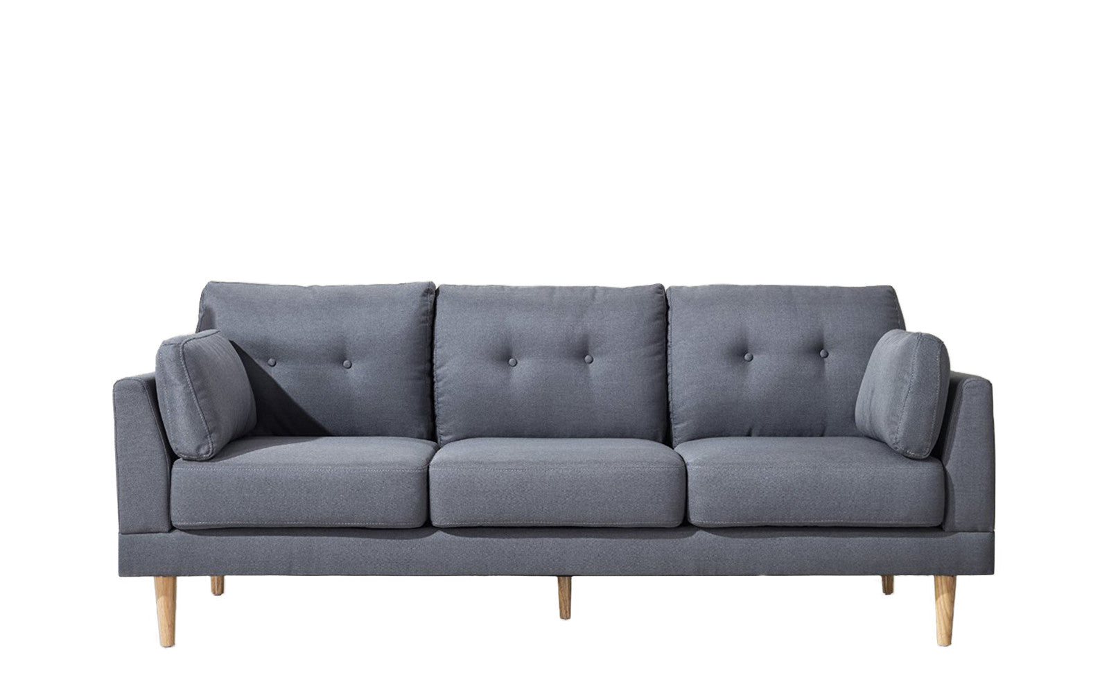 Superbe ... Ian Mid Century Modern Sofa In Dark Grey ...