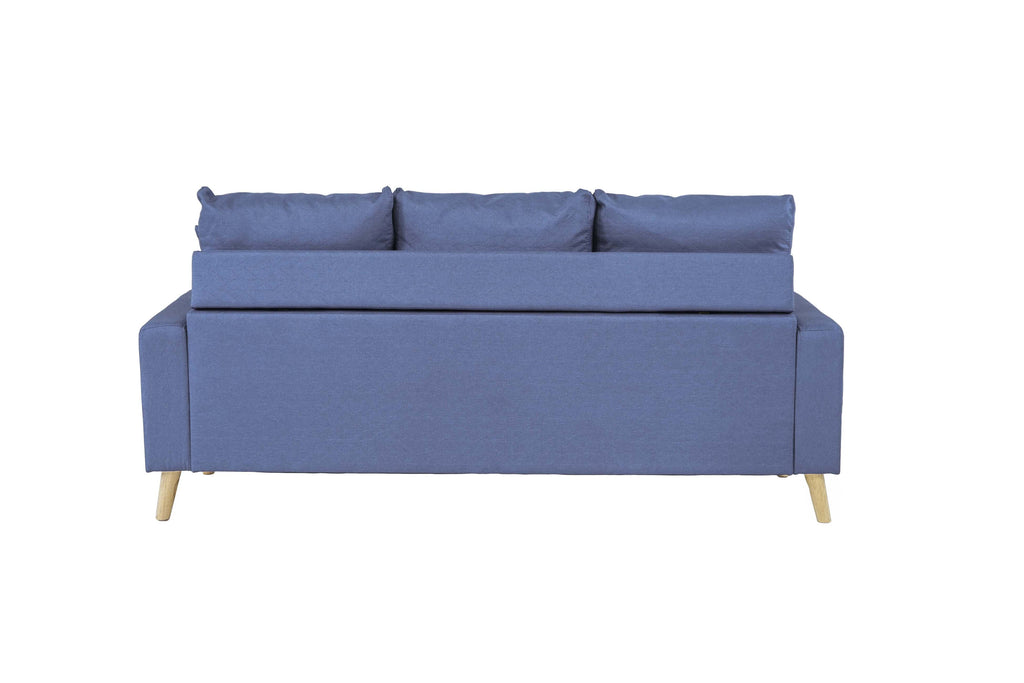 Pleasant Pride Vibrant Mid Century Space Saving Sectional Pabps2019 Chair Design Images Pabps2019Com