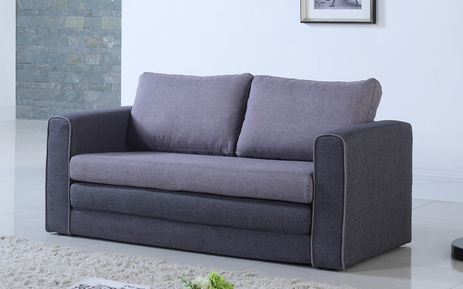 Ann Modern 2 Tone Sofa Bed