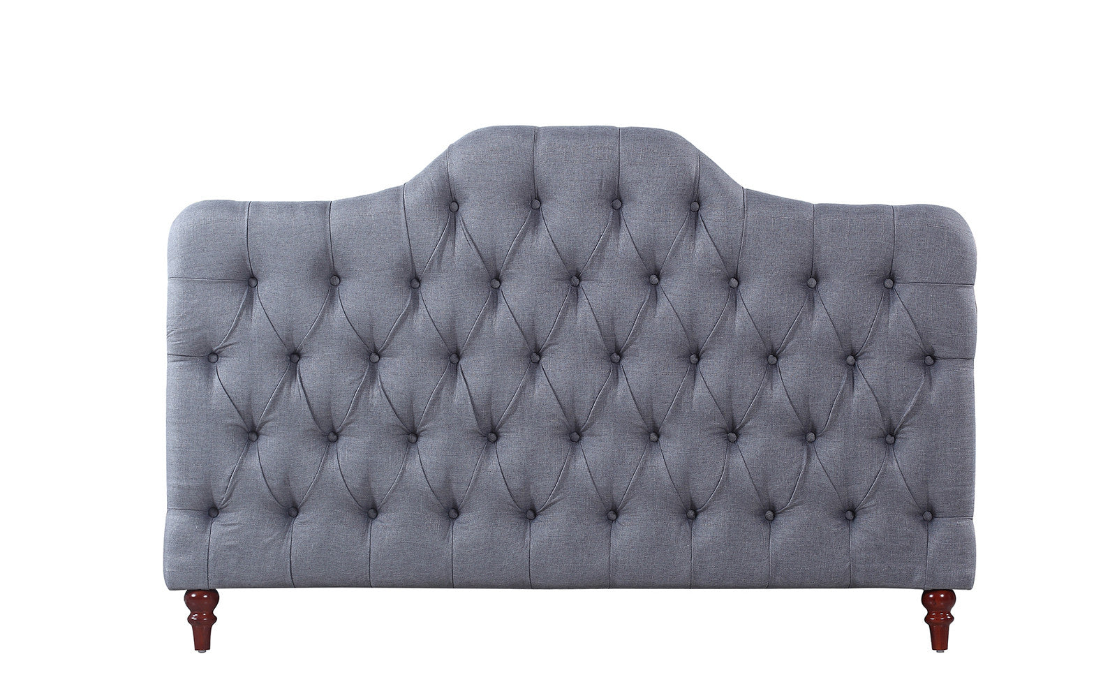 Fabric Headboard Grey Image