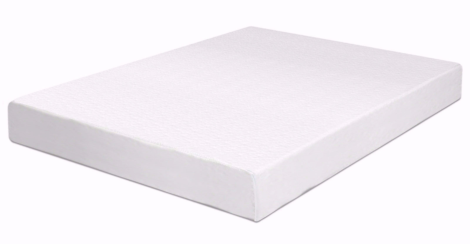 espuma 6 inch high density memory foam mattress