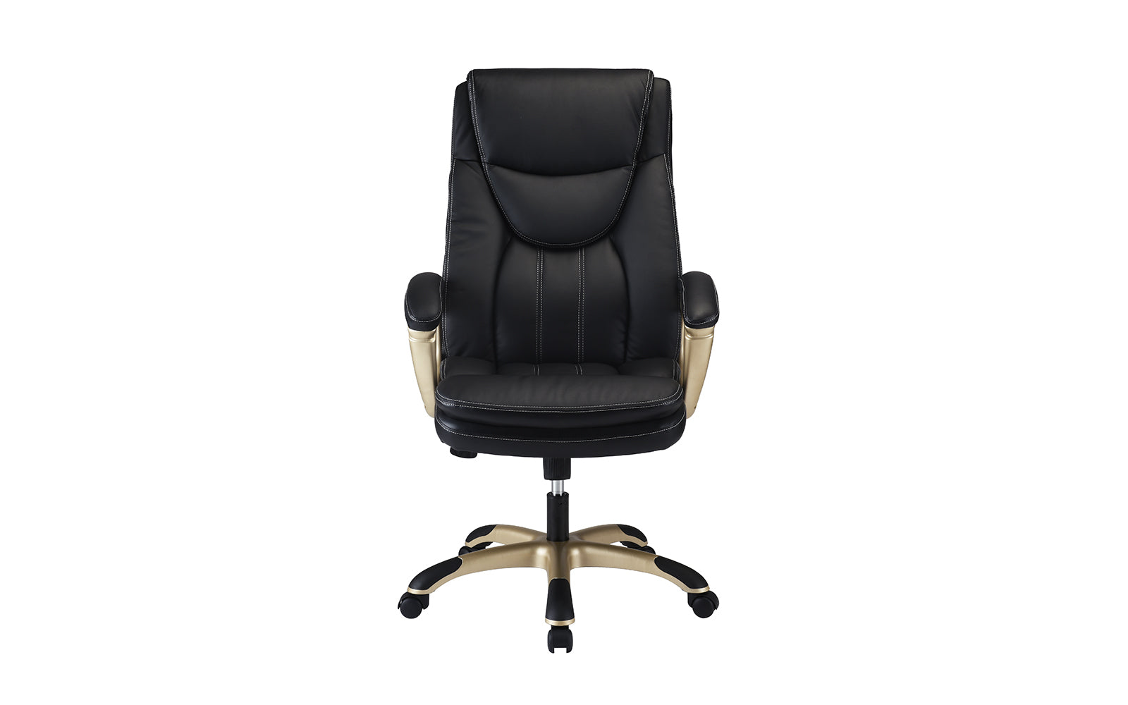 City Plush High Back Faux Leather Executive Office Swivel Chair