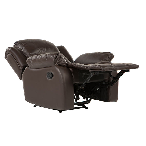 Bob Classic Bonded Leather Recliner Chair