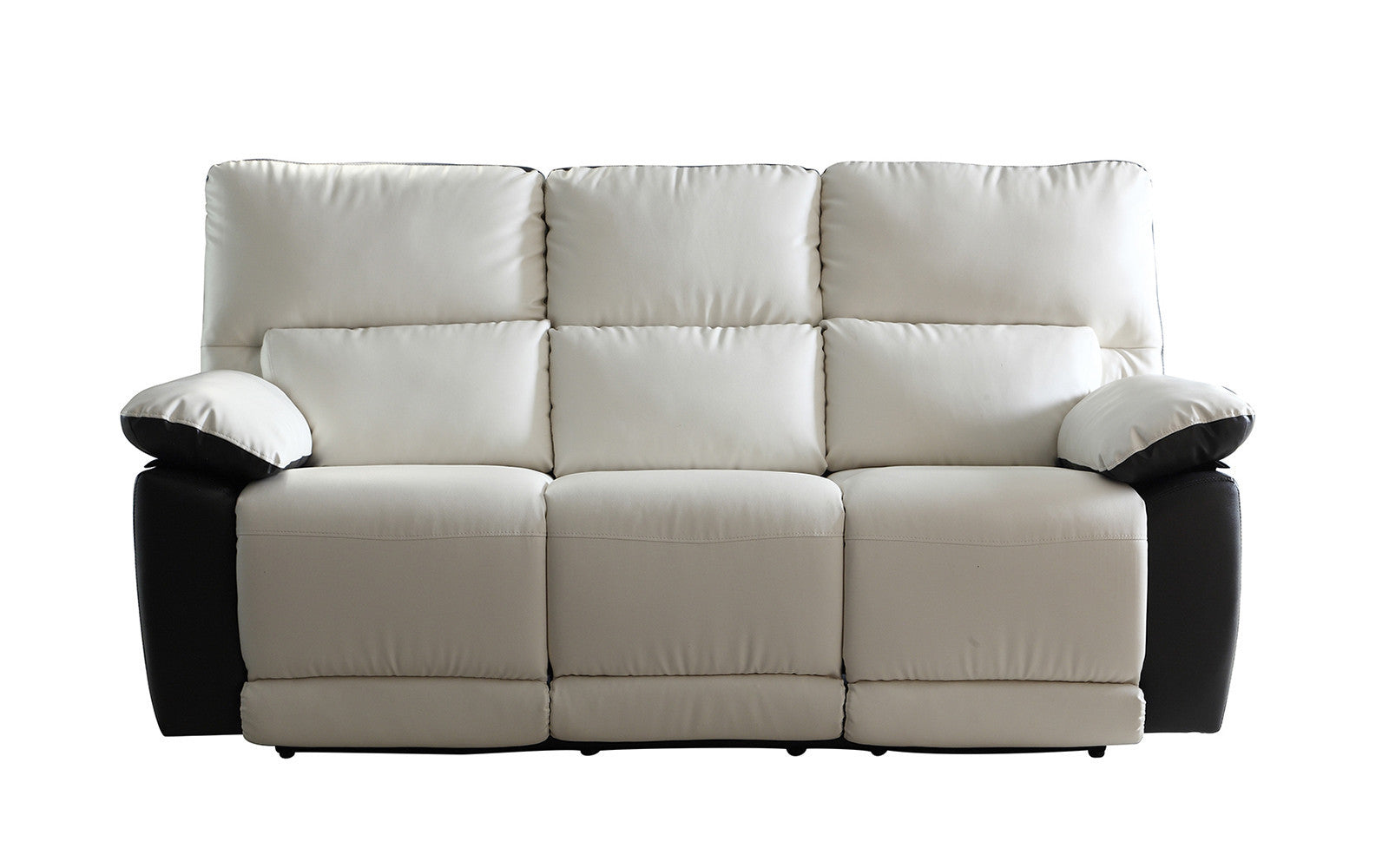 ... Leather Reclining Sofa · Blanco Modern 2 Tone Recliner Sofa ...