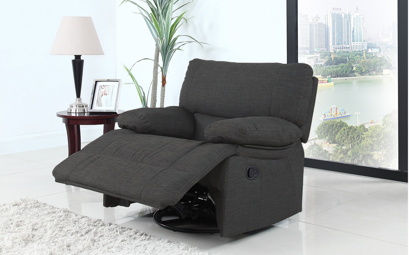 Athens Traditional Fabric Recliner Chair Sofamania Com