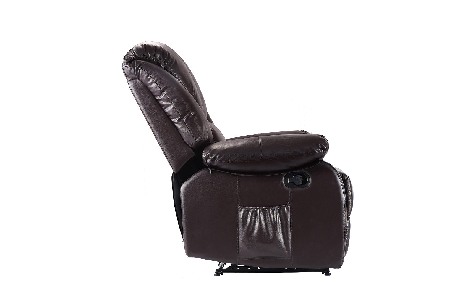 ... Bach Full Body Massage Recliner Chair Brown Profile ...