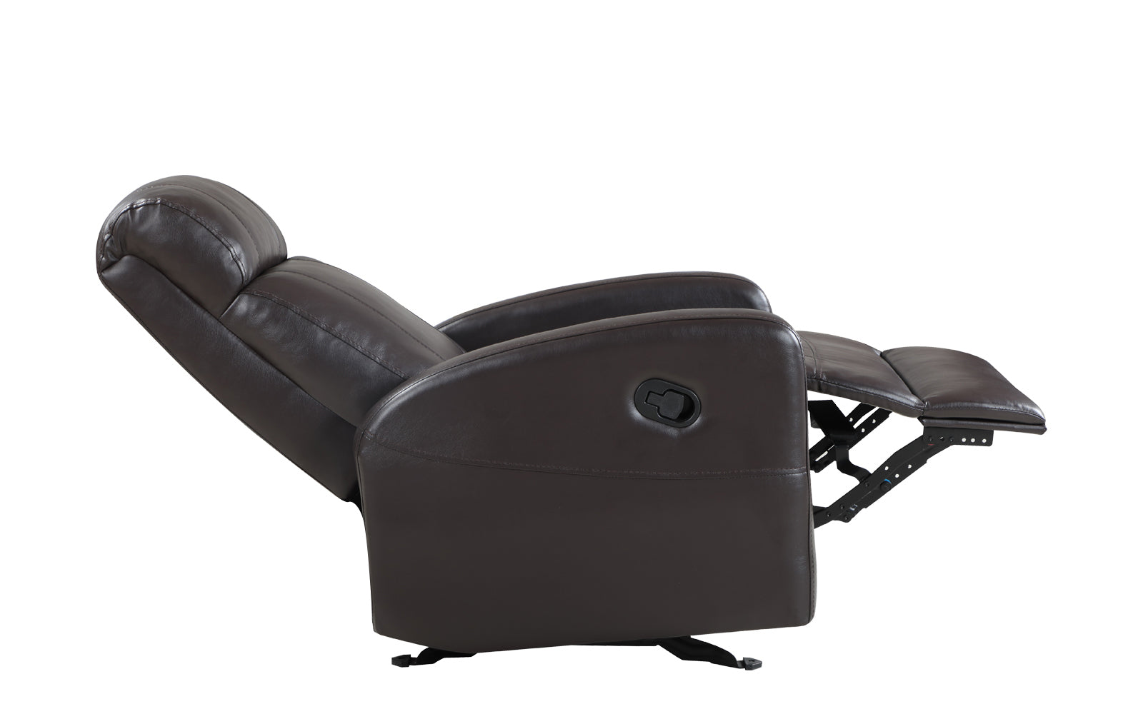 Swell Sabin Modern Faux Leather Recliner Onthecornerstone Fun Painted Chair Ideas Images Onthecornerstoneorg