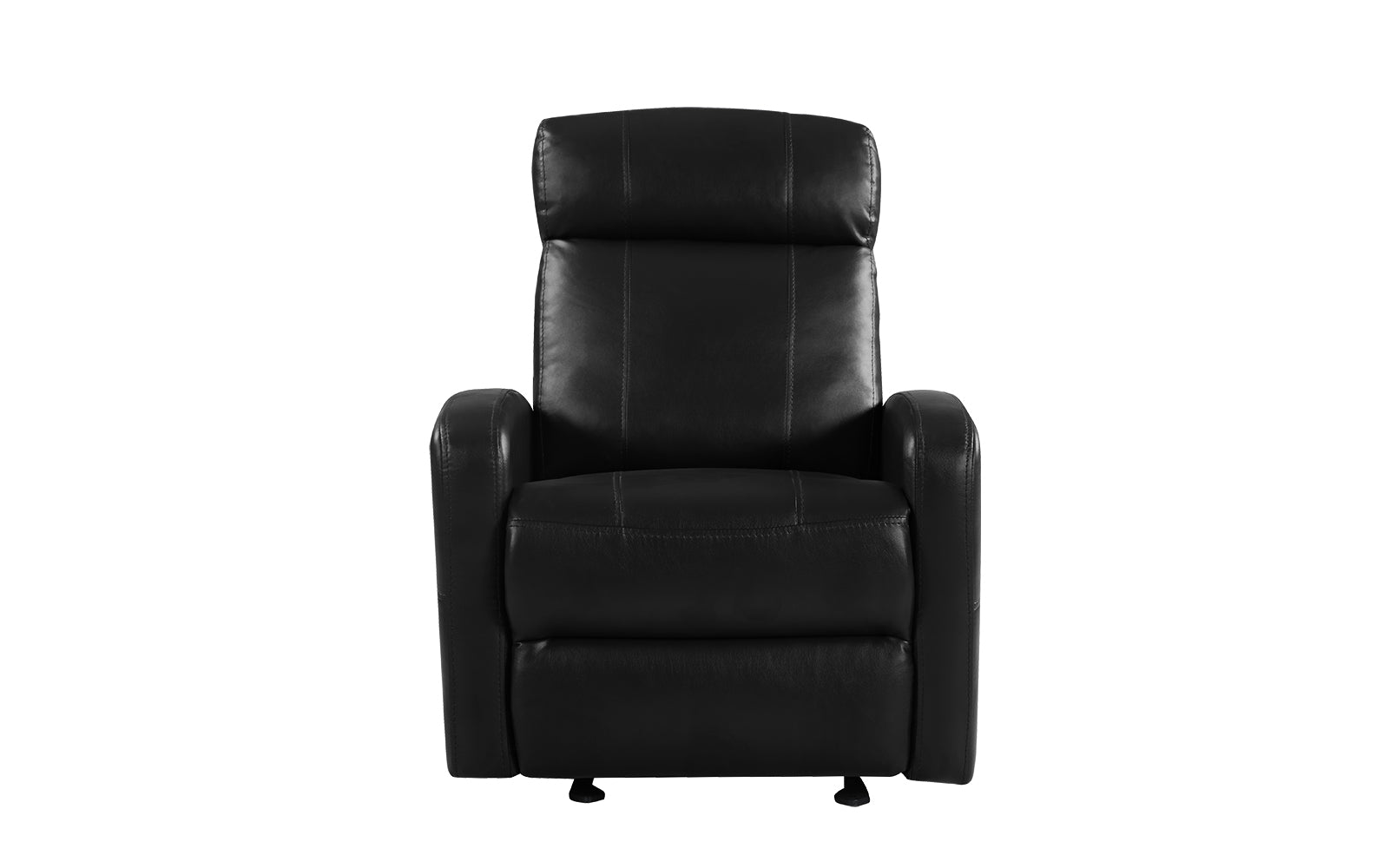 Awesome Sabin Modern Faux Leather Recliner Squirreltailoven Fun Painted Chair Ideas Images Squirreltailovenorg