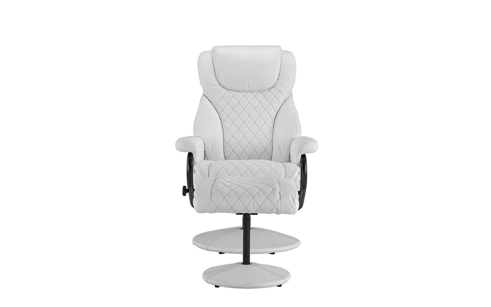 High Back Leather Executive Chair Footrest Image