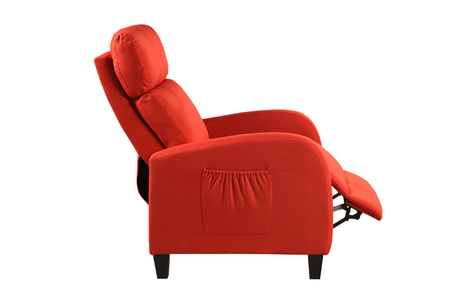 Liam Classic Faux Leather Recliner Chair Sofamania Com