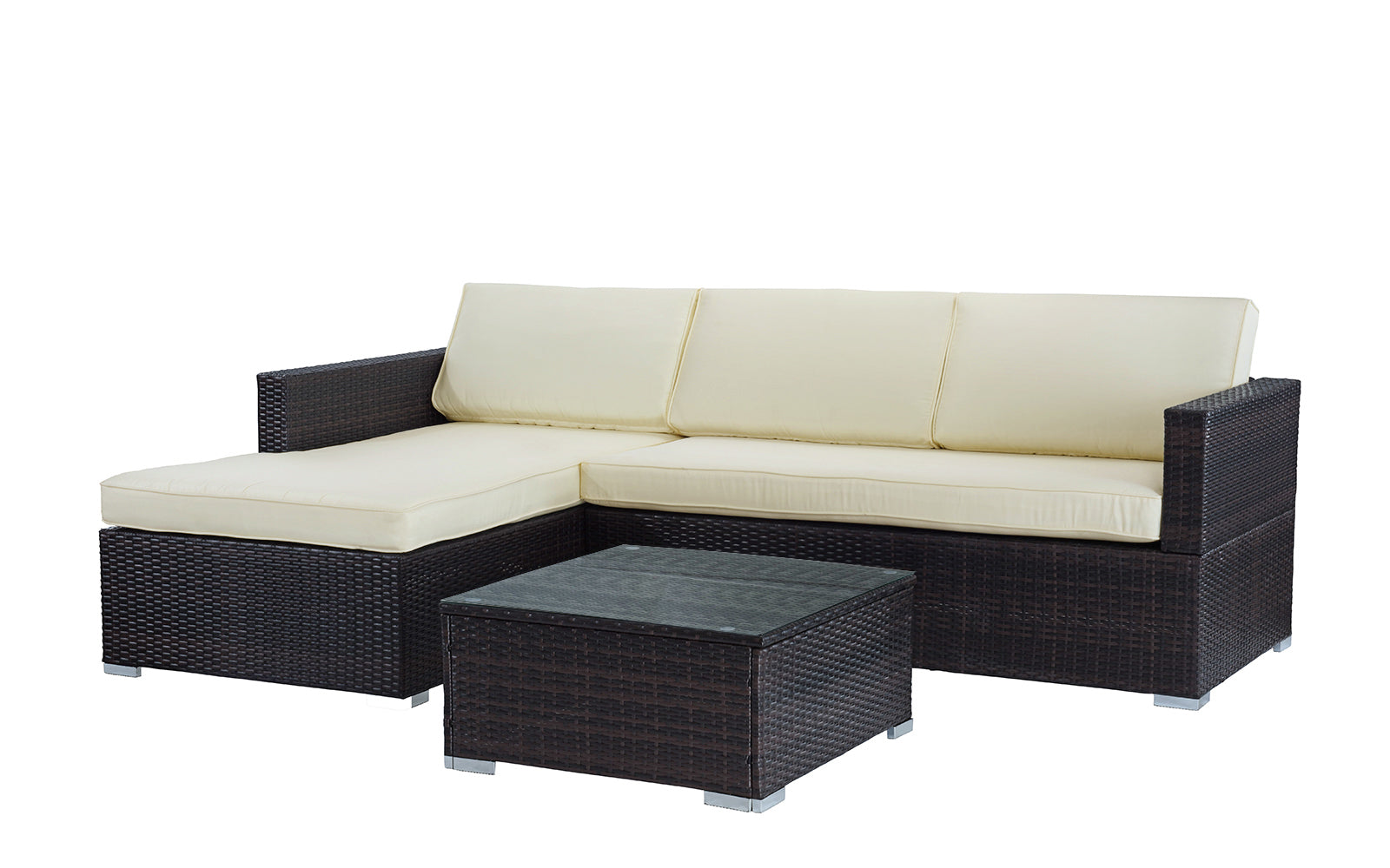Genial Hilo Modern Outdoor Sectional With Coffee Table