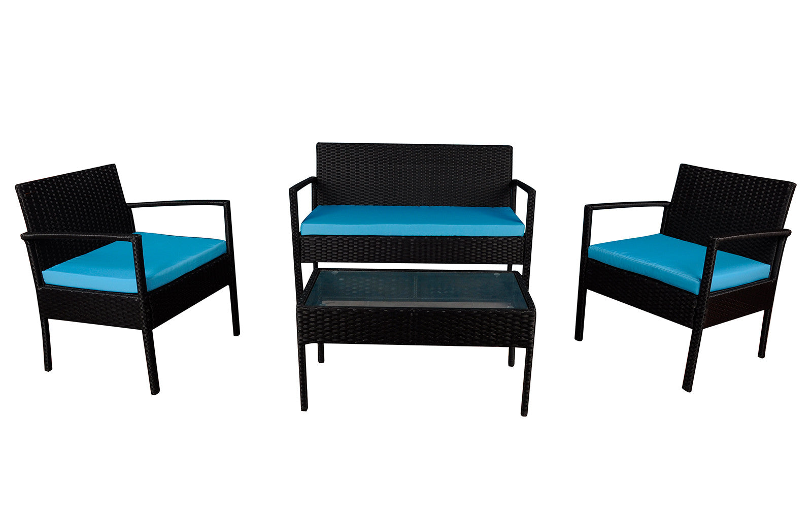 Rattan Outdoor Set Image
