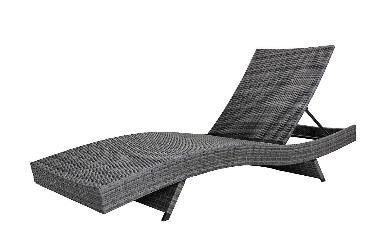 Wondrous Marina Set Of 2 All Weather Modern Outdoor Patio Chaise Spiritservingveterans Wood Chair Design Ideas Spiritservingveteransorg