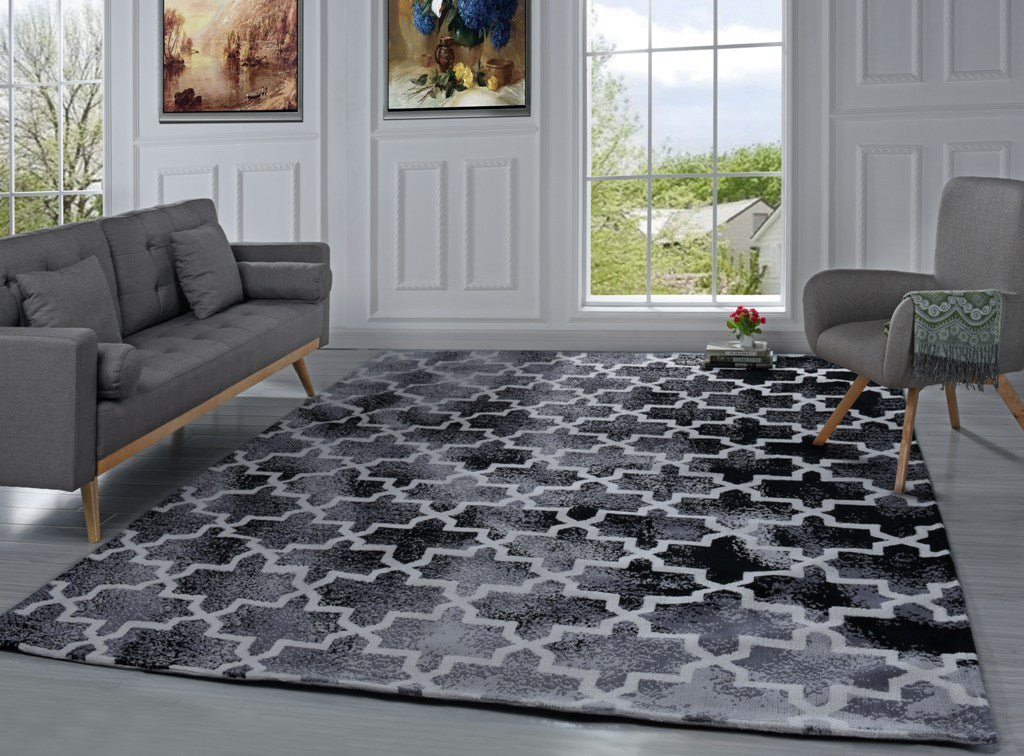modern rugs for living room elise contemporary geometric living room rug sofamania 18950