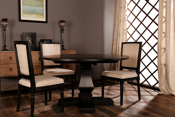Merritt Rustic And Distressed Style Dining Room Table