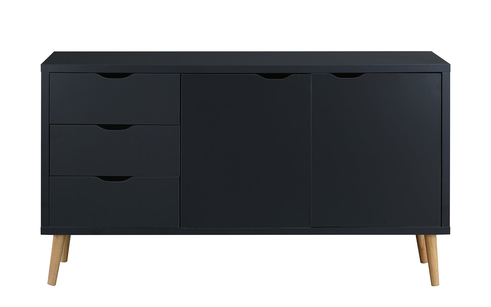 quality design 26d3f 16c05 Tylor Modern Wooden TV Stand Cabinet