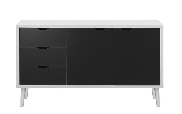 Dark Wood Tv Credenza : Tv media storage ikea