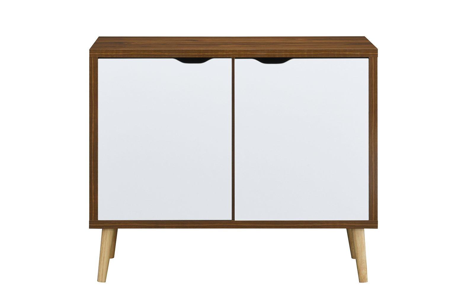 Sia Mid Century Vinyl Record Cabinet And TV Stand