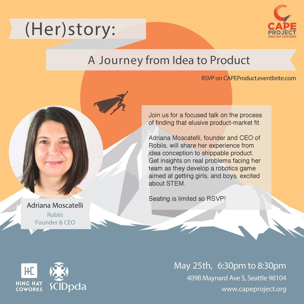 (Her)story: A Journey from Idea to Product