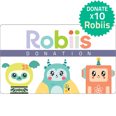 Donate 10 Robiis Starter Kits to Schools