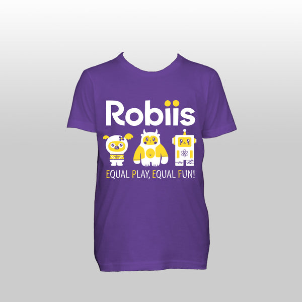 Robiis t-shirt kid sizes