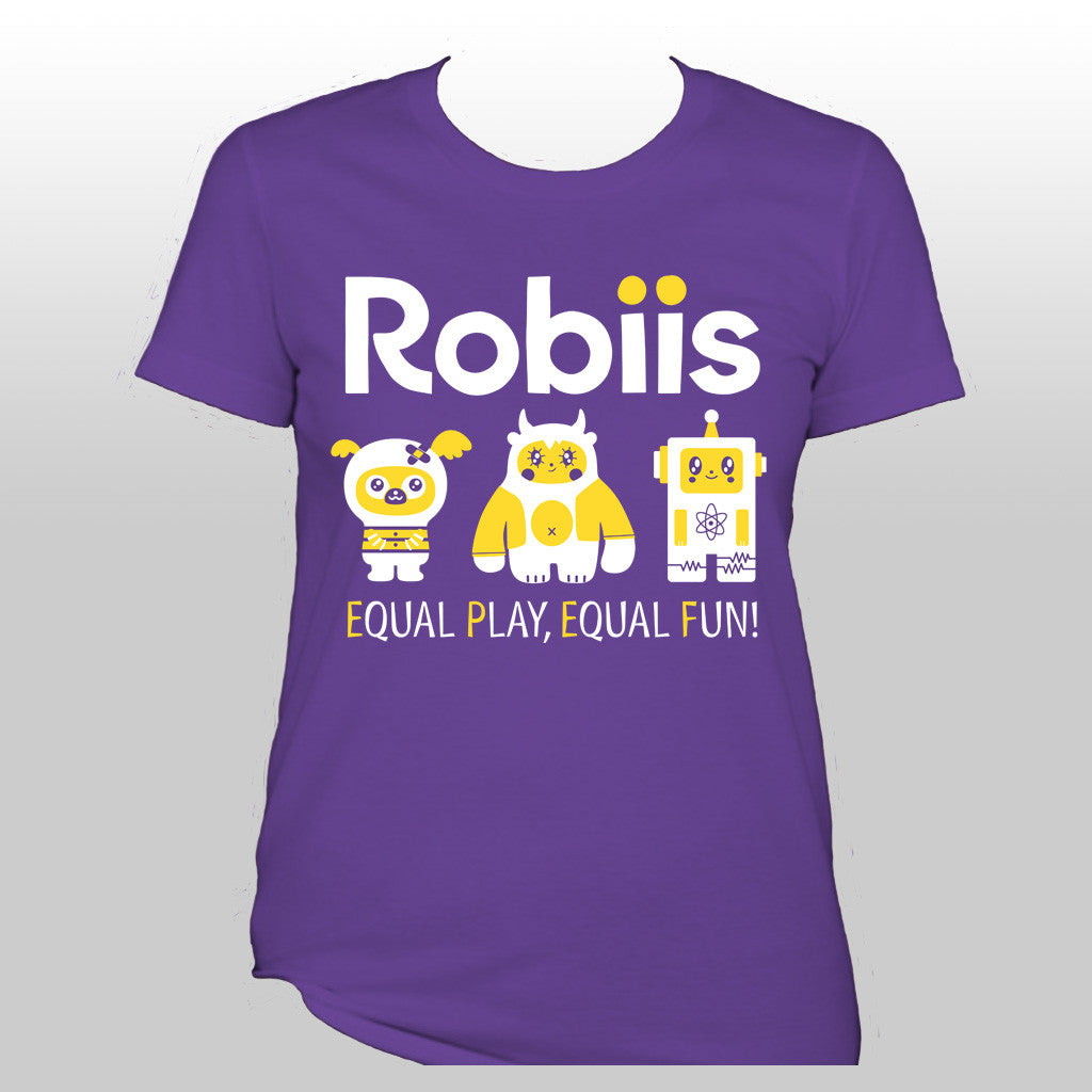 Robiis t-shirt women sizes <br> SHIPS SOON!