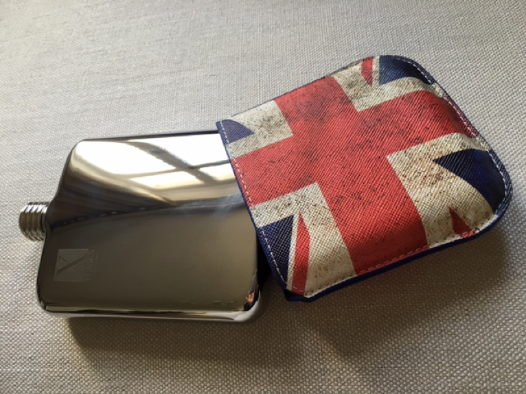 X FLASKS Union Jack Pouch