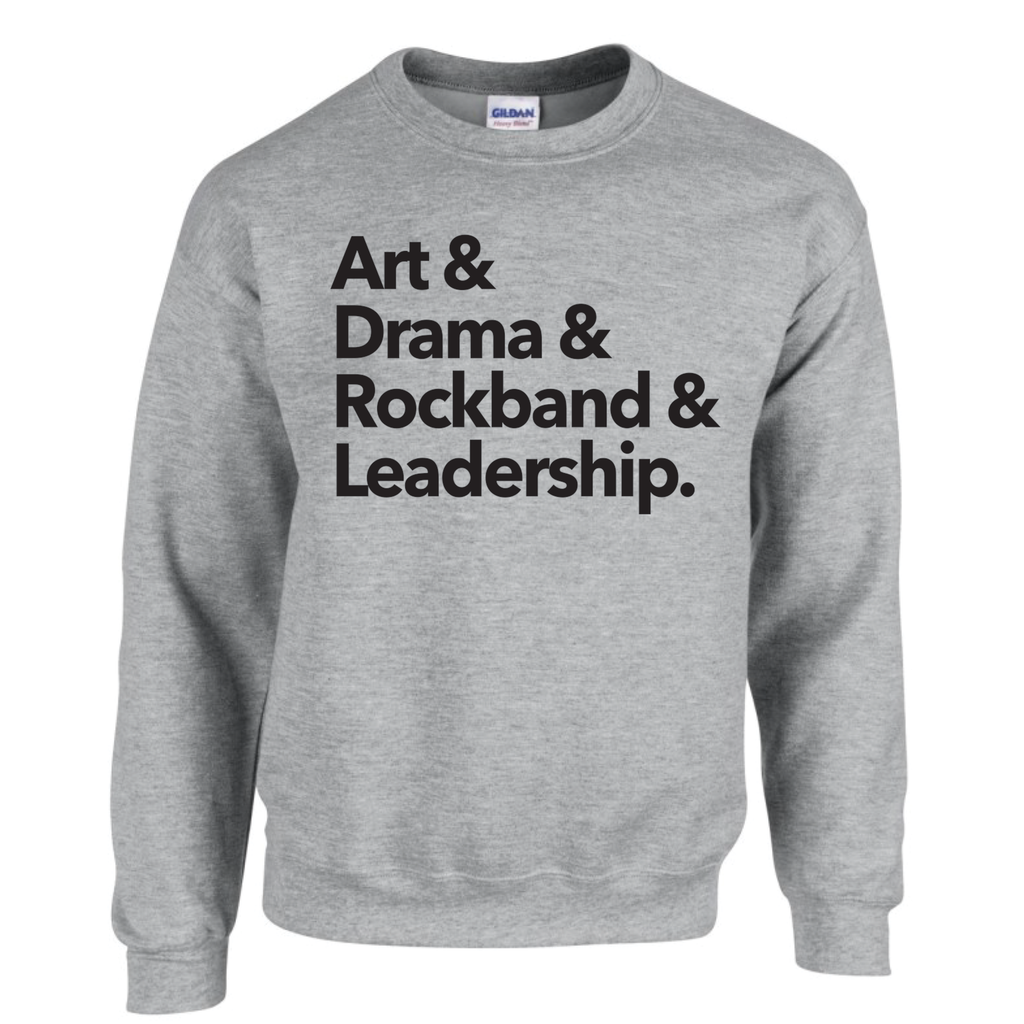 "Duchess ""Clubs"" Crew-neck Sweatshirt - Adult"