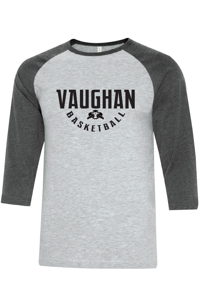 Vaughan Panther Baseball Tee- Adult