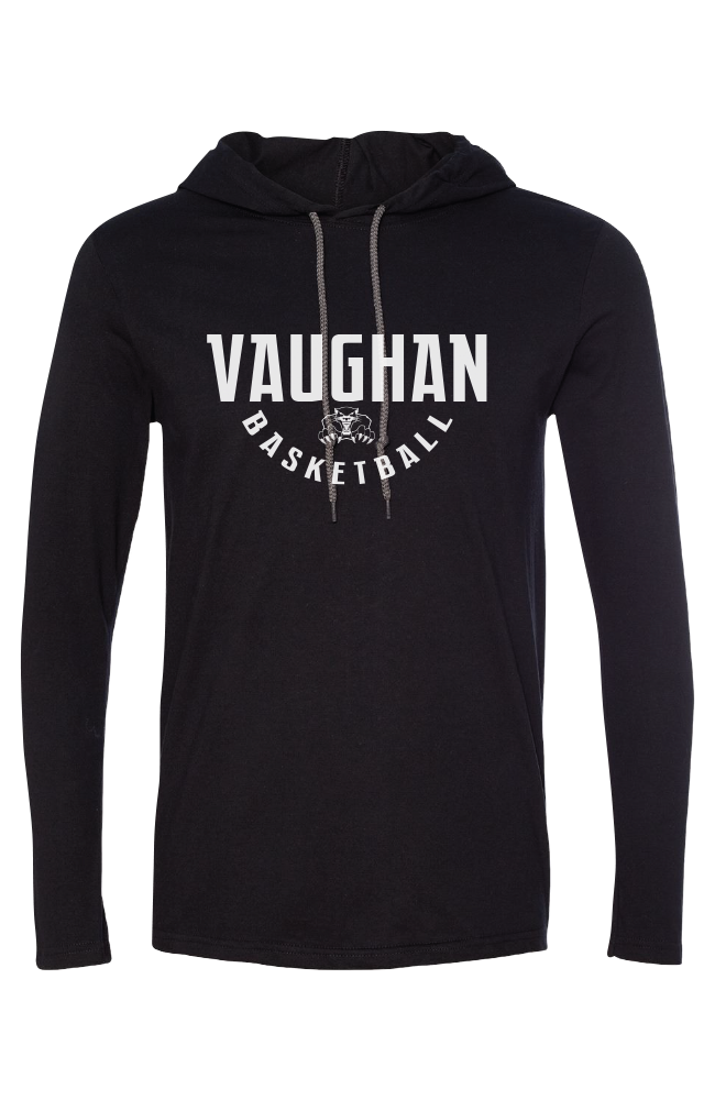 Vaughan Panthers Lightweight Hooded Long Sleeve Tee- Men's
