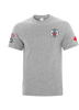 CR Soccer Grey Everyday Cotton Tee- Adult