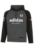 CR Soccer Dynamic Heather Hooded Sweatshirt- Youth